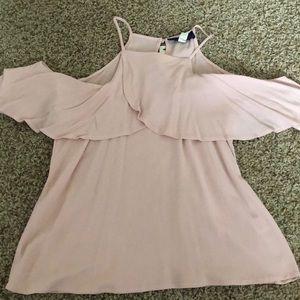 Francesca's pink top